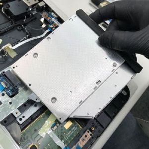 Fujitsu Siemens Notebook 13.3 Zoll DVD-Laufwerk-Austausch exkl. Ersatzteil