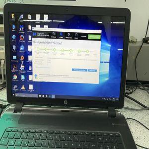 HP Notebook 13.3 Zoll Virenentfernung