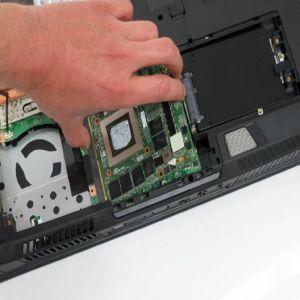 HP Notebook 17.3 Zoll Grafikkartenreparatur exkl. Ersatzteil