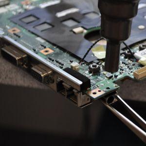 HP Notebook 17.3 Zoll Strombuchseaustausch exkl. Ersatzteil