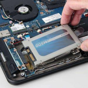 Toshiba Notebook 14 Zoll HDD / SSD-Austausch exkl. Ersatzteil
